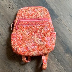 Like New Vera Bradley Sherbet Backpack